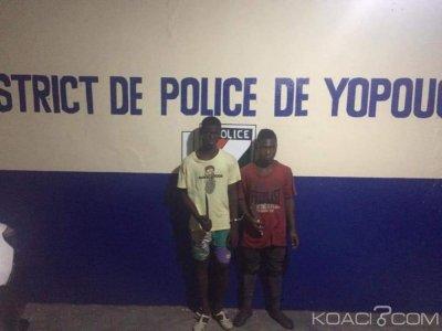 Côte d'Ivoire: Vol et agression à Yopougon Siporex, 02 individus interpellés par la police
