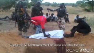 Nigeria :  Quatre villageois égorgés par des membres de Boko Haram à Maiduguri