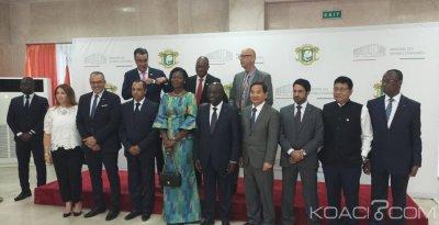 Côte d'Ivoire :  Abidjan, le corps diplomatique pour une reprise des réunions périodiques de concertation entre le ministère des affaires étrangères et le Décanat