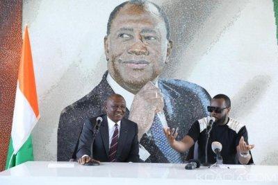 Côte d'Ivoire : Maitre Gims star d'Abobo