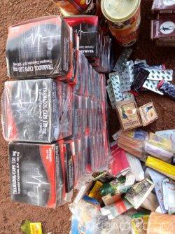 Côte d'Ivoire : Un individu abandonne un colis contenant des stupéfiants et produits prohibés