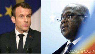 RDC-France : Dans une lettre, Emmanuel Macron félicite Tschisekedi et plaide pour la réouverture de la Maison Schengen