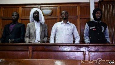 Kenya : Attaque contre l'université de  Garissa , l'un des suspects a été acquitté