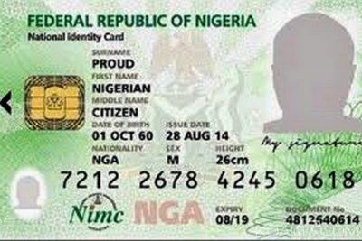 Nigeria : La Carte d'Identité payante à partir de 2022