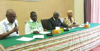 Côte d'Ivoire : Présidentielle de 2020, les recommandations d'un groupe de réflexion au sein du PPDCI-RDA pour la victoire de leur formation politique