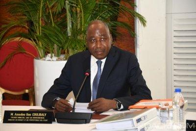 Côte d'Ivoire : Amadou Gon demande à son équipe de faire preuve de discipline dans l'exécution budgétaire