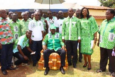 Côte d'Ivoire : Didiévi, N'Gban et N'Zikpli avec le PDCI pour la victoire de 2020, rassurent Bédié qu'ils ne quitteront jamais le parti