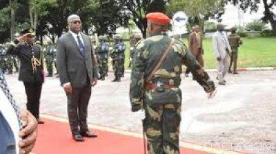 RDC : Tchisekedi rassure  les soldats et s'envole pour sa première tournée régionale