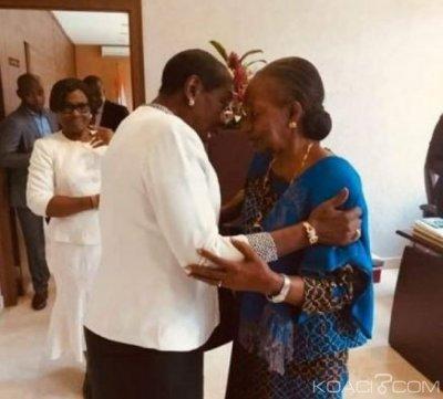 Côte d'Ivoire : Bro Grèbè chez la grande chancelière pour parler de la paix et la réconciliation