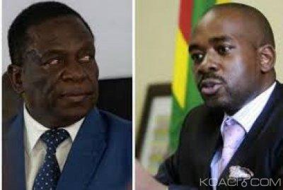 Zimbabwe : L' opposition boycotte  le dialogue national lancé par Mnangagwa
