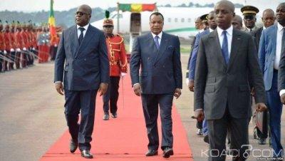 RDC : Félix Tshisekedi achève sa première tournée  régionale au Congo-Brazzaville