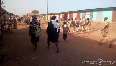 Côte d'Ivoire : Réponse à Kandia, enseignants et élèves absents des écoles à Bouaké