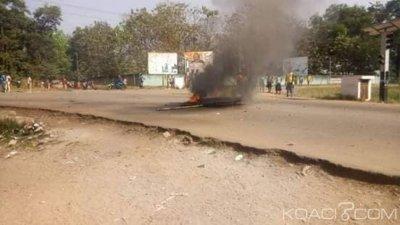 Côte d'Ivoire : Grève dans l'éducation, à Guiglo, les élèves manifestent violemment, un blessé