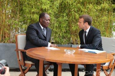 Côte d'Ivoire : Ouattara a quitté Addis-Abeba pour la France où il aura un entretien vendredi à l'Élysée avec Macron