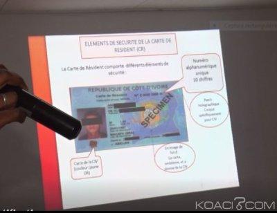Côte d'Ivoire : Une campagne pour exiger  la carte de résident biométrique hors CEDEAO, à peine  20.000 enrôlés sur une population estimée à plus d'un million