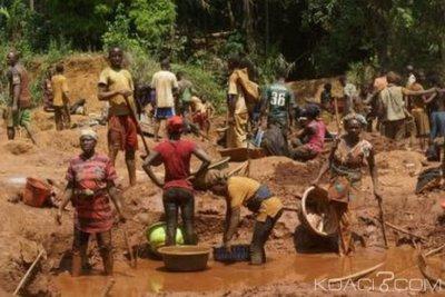 Liberia : Effondrement d'une mine d'or à Gbanepea