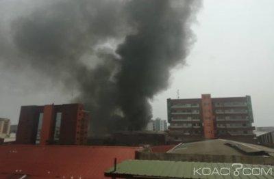 Côte d'Ivoire : Un incendie déclaré dans un entrepôt de jouets à Marcory
