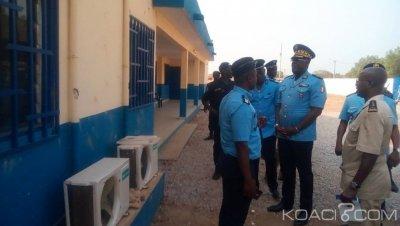 Côte d'Ivoire : Après l'assaut des élèves sur le commissariat,   depuis Botro, le DG de la police à ses hommes, « il faut sortir de l'émotion et éviter d'avoir un esprit revanchard »