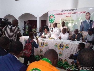 Côte d'Ivoire: Création du parti Raci à Yopougon, Kanigui Soro «nous réagirons si nous sommes offensés»