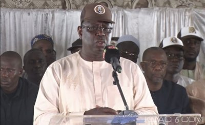 Sénégal :  Menaces de saboter le scrutin présidentiel, Macky Sall répond et avertit Me Wade