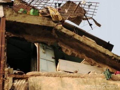 Côte d'Ivoire : L'explosion d'une bonbonne de gaz entraine l'effondrement d'un  bà¢timent et fait un mort à Adjamé