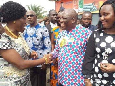 Côte d'Ivoire : À Bonoua, la population s'est mobilisée pour rendre hommage à Simone Gbagbo