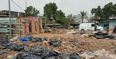 Côte d'Ivoire : Abobo,  Hamed Bakayoko débarrasse une rue de ses occupants illégaux non loin du domicile de la ministre Jeanne Peumonh