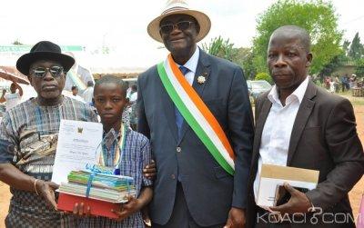 Côte d'Ivoire : Depuis Gagnoa, l'élu Guikahué échange avec les populations sur l'établissement des extraits de naissance