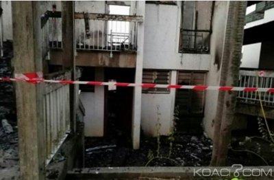 Côte d'Ivoire : Yopougon, un incendie ravage des chambres de   l'Académie Régionale des Sciences et Techniques de la Mer