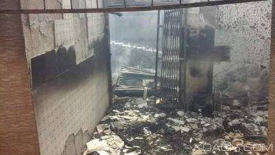 Côte d'Ivoire : À Bondoukou, le domicile d'un vice président du conseil régional ravagé par un incendie