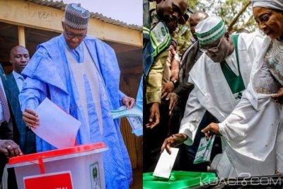Nigeria : Présidentielle et législatives, vote en cours, Buhari et Atiku ont voté, leurs réactions