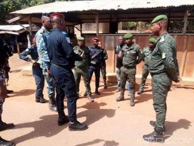 Côte d'Ivoire : En vue d'apporter son soutien à ses hommes, le commandant supérieur de la gendarmerie dans des brigades du Nord