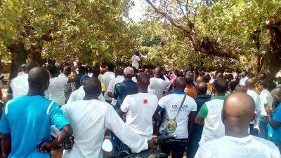 Côte d'Ivoire : Après l'assaut mené sur les enseignants à Bouaké, un des grévistes formel, «notre lutte va aboutir»