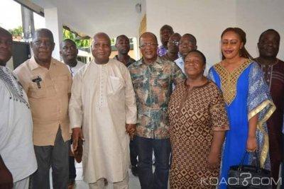 Côte d'Ivoire : Revenu d'exil, EDS rend visite à Guiriéoulou