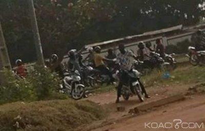 Côte d'Ivoire : A Danané, manifestation des motos-taxis pour dénoncer la violation d'un accord avec les forces de l'ordre
