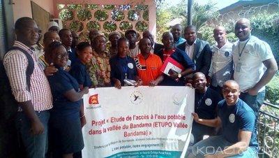 Côte d'Ivoire : Bouaké, présent à un projet d'accès à l'eau potable,     le DR de la SODECI invite une ONG à la sensibisation
