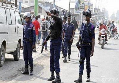 RDC : Mécontents, des policiers tirent en l'air à Mbiji-Mayi pour réclamer leurs  arriérés de salaire