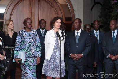 Côte d'Ivoire : La Directrice Générale de l'Unesco en visite de 48 heures dans le pays