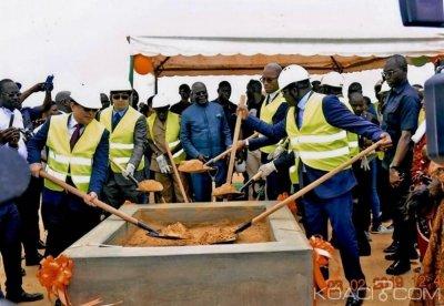 Côte d'Ivoire : Can 2023, lancement officiel des travaux des infrastructures de la ville de San Pedro
