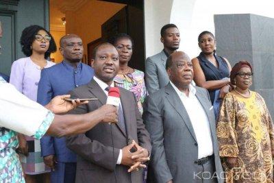 Côte d'Ivoire : Banny reçoit la seconde fois Soro «quand on se parle, on multiplie les chances de se comprendre, c'est le début d'une initiative»