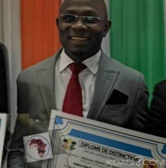 Côte d'Ivoire : Abidjan, le Vice-Président du MFA élu meilleur chef d'entreprise de l'UEMOA pour avoir contribué à la transparence économique en Afrique