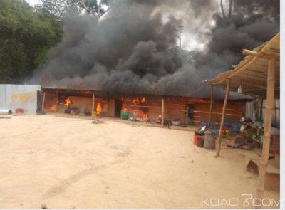 Côte d'Ivoire : Destruction de sites d'orpaillage  clandestin  dans la région de la Mé, plus d'une dizaine de personnes interpellées