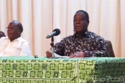 Côte d'Ivoire : Depuis Yamoussoukro, Bédié «Il n'y a plus d'Allah Gnissan»