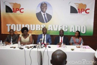 Côte d'Ivoire : APC, le mouvement éclate à cause du soutien de certains de ses membres fondateurs à Guillaume Kigbafori Soro