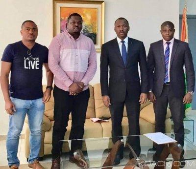 Côte d'Ivoire : Affaire Texas Grillz, Mamadou Touré reçoit le promoteur et promet l'accompagner dans sa réinstallation