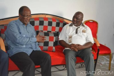 Côte d'Ivoire : Ouégnin chez Lazare Koffi Koffi  revenu d'exil « le combat, nous devons le poursuivre tous ensemble et le gagner vaille que vaille »