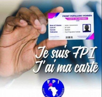 Côte d'Ivoire : Présidentielle  2020, le FPI se prépare et relance la carte des militants