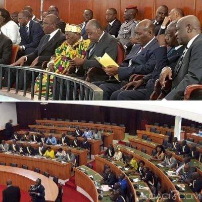 Côte d'Ivoire : Trois groupes parlementaires et Affi boycottent l'élection du nouveau président de l'Assemblée nationale