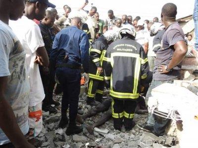 Côte d'Ivoire : Drame à Marcory l'effondrement d'un mur fait un mort