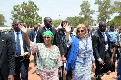 Côte d'Ivoire : Faisant fi des palabres politiques à la célébration de la JIF à Bouaké,   Dominique Ouattara rend hommage à Henriette Bédié